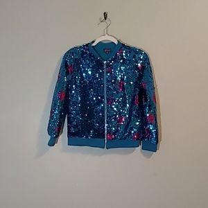 JoJo's closet blue star jacket